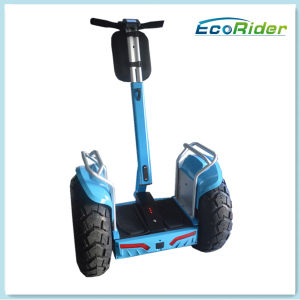 LCD Screen Mobility Electric Standing Scooter Double Battery System E-Scooter pictures & photos