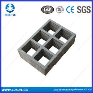 En124 Chinese Drain Matched Fiberglass Manhole Cover pictures & photos