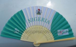 Summer Promotional Gift Bamboo Paper Fan pictures & photos
