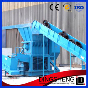 Good Performance Double Shaft Waste Tire Crusher Machine pictures & photos