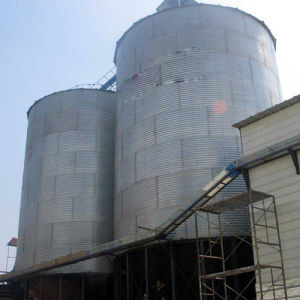 Corrugated Galvanized Steel Bolt Assembled Silo for Grain pictures & photos