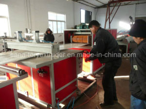 Plastic PVC WPC Hollow Door Board Extruder Machine pictures & photos