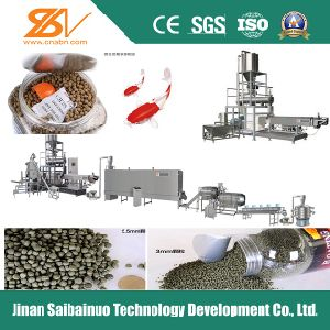 China Extruding Pellet Fish Food Automatic Machine pictures & photos