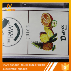 Self Adhesive Paper Juice Bottle Label pictures & photos