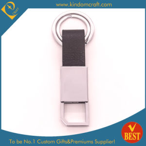 China Customized High Quality Genuine Leather Key Chain at Factory Price for Gift pictures & photos