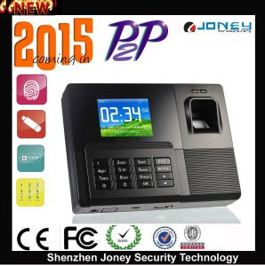 "2.8"" TFT Display RFID Card Fingerprint Scanner Time Attendance with Free Software pictures & photos"