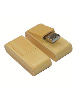 Bamboo Gift USB Flash Drive with Custom Logo pictures & photos