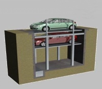 New Hydraulic Pit Lifting Car Parking System