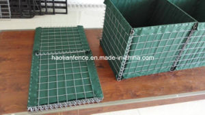 Welded Hesco Blast Barrier with Heavy Geotextile pictures & photos