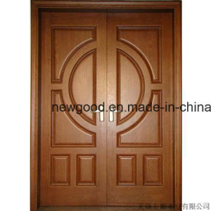 Solid Wood Door for Villas, Villa Main Door, Villa Room Door pictures & photos