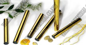 Gold Stainless Steel Pipe 304 pictures & photos