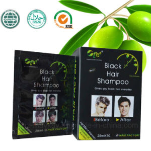 Fat Black Hair Shampoo 25ml X 10 pictures & photos