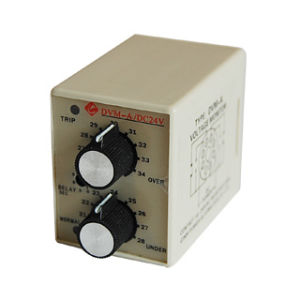 DC12V 24V 36V 48V Over Under Voltage Electronic Protection Relay pictures & photos