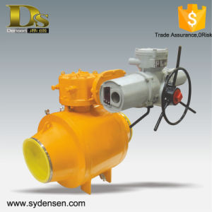 Densen Offered Full Welded Electric Actuator Water Valve pictures & photos