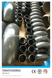 ANSI B16.9 CS A420wpl6 Pipe Fittings Seamless 90 Degree Elbow pictures & photos