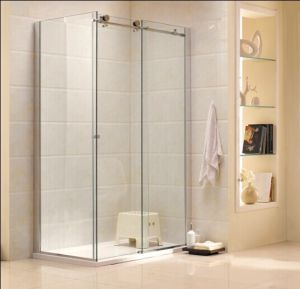 Australian Standard Modern Design Bathroom Tempered Glass Shower Cabin (R3) pictures & photos