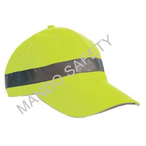 Reflective Fitted Snapback Bicycle Cycling Cap for Safe pictures & photos