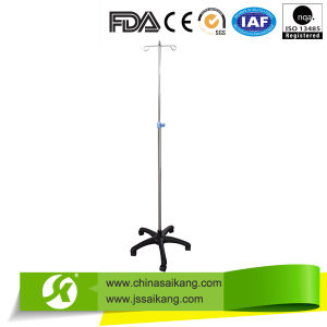 Height Adjustable S. S. IV Stand Pole (CE/FDA/ISO) pictures & photos