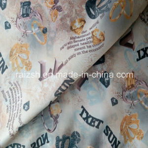 100% Polyester Taffeta Fabric Printed Use for Dress Lining Hometextile pictures & photos