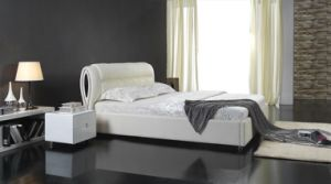 Comfortable Soft Leather Bed pictures & photos