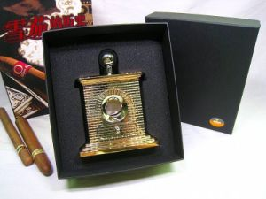 Luxurious Cohiba Guillotine Brick House Style Cigar Cutter & Scissors (ES-EB-017) pictures & photos