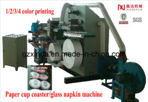 Paper Cup Coaster Glass Napkin Making Machine pictures & photos