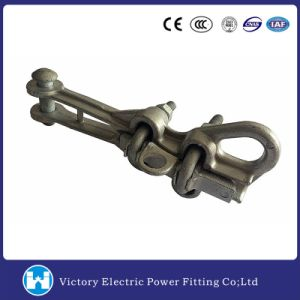 Power Fitting Wire Grip Galvanzied Dead End Clamp (NLZ-1L) pictures & photos