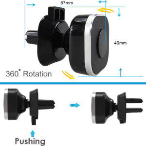 Universal Air Vent Magnetic Car Mount Holder pictures & photos
