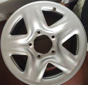 Pick up Truck Silver Full Face Steel Wheel Rim pictures & photos