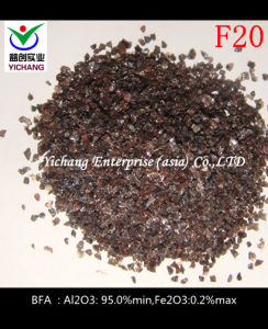 Al2O3 95%Min Brwon Fused Alumina pictures & photos