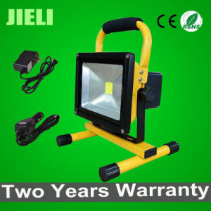 20W 2.5h Working Time Rechargeable LED Floodlight+Charger+Car Charger pictures & photos
