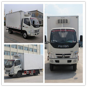 Factory Direct Sale Foton 4X2 Meat Vegetable Food Refrigeration Van Truck for Frozen Food pictures & photos