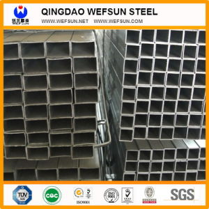 Hot Sale Q235 Material ERW Structural Black Square Pipes pictures & photos