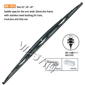 Wiper Blade for Bus with Sepcial Wiper Arm