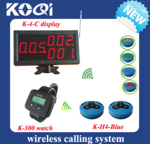 Wireless Pager System with Button for Restaurant pictures & photos