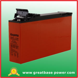 160ah 12V Front Terminal Access Gel Telecom Battery pictures & photos