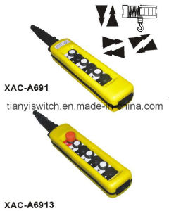 Xac-A691 or Xac-A6913 Hoist Control Stations Crane Control Tail Switch pictures & photos