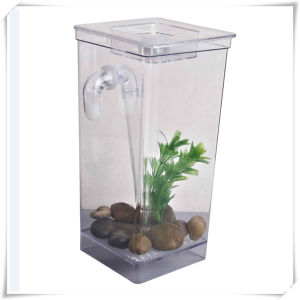 Mini Self Cleaning Fish Tank (VD15006) pictures & photos