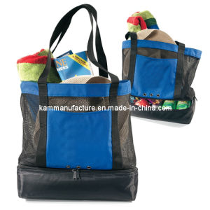Beach Bag with Cooler (KM4765) pictures & photos