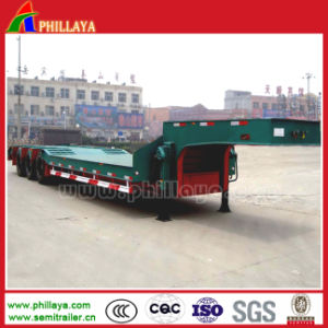High Quality 3 Axles Low-Loader Trailer Truck pictures & photos