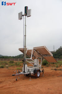 Vs Solar Lighting Tower 24VDC with LED Floodlights and Optional DC Generator Set pictures & photos