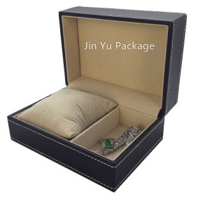Luxury Handmade Leather Jewelry Sets Packing Box pictures & photos