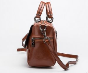 Designer PU Leather Fashion Shoulder Bag Leisure Lady Handbag (LDO-01683) pictures & photos
