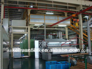 3.2m Single Beam New Technology Polypropylene Spun Bond Non Woven Fabric Making Machine pictures & photos