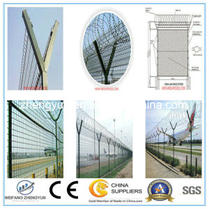 High Quality Wire Mesh Fence/ Airport Metal Fence for Sale pictures & photos