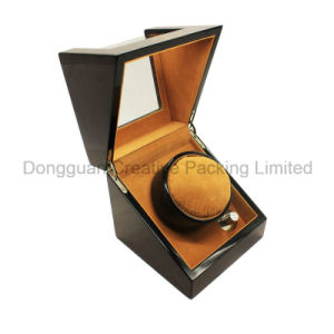 Wholesale High Gloss Single Wood Watch Winder pictures & photos