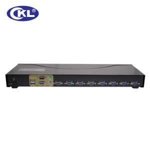 High Quality 8 Port USB Kvm Switch (OSD WITH CABLES)