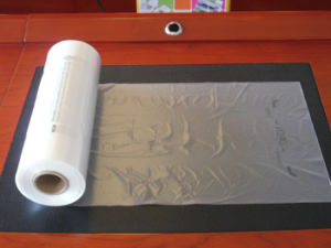 HDPE Clear Plastic Flat Bag on Roll pictures & photos