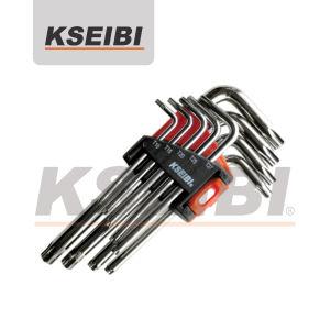 9PCS Short Length Star Key Set Titanium Hex Wrench pictures & photos