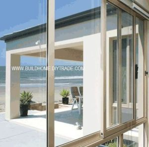 Aluminium Sliding Window with Argon Filled pictures & photos